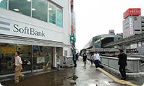 Softbankショップが見えたら…